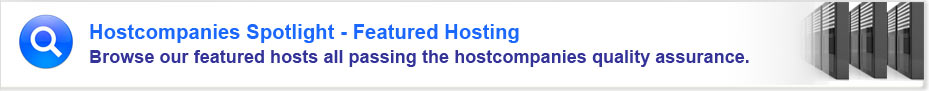 Featured Web Hosting Companies 